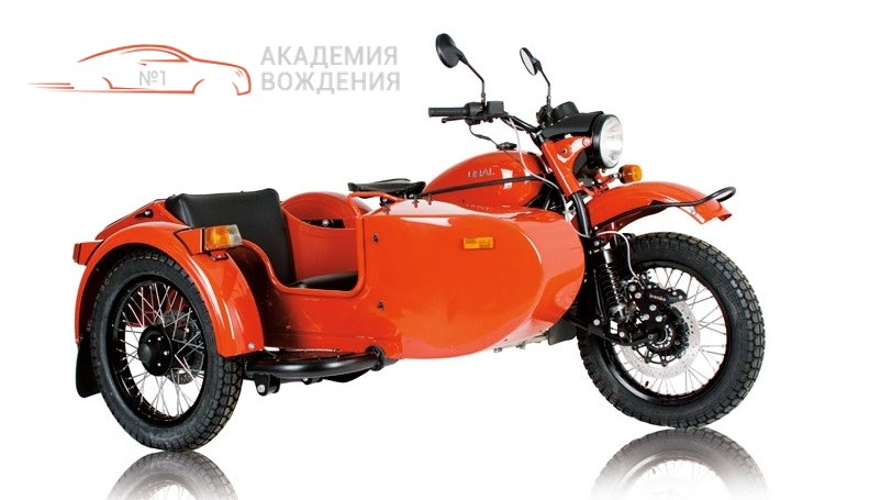вождения мотоциклов с боковым прицепом